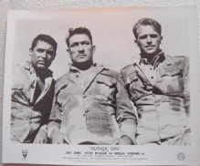 Gunga Din, Original Movie Still, Great image of Grant, McLaglen Fairbanks Jr '39
